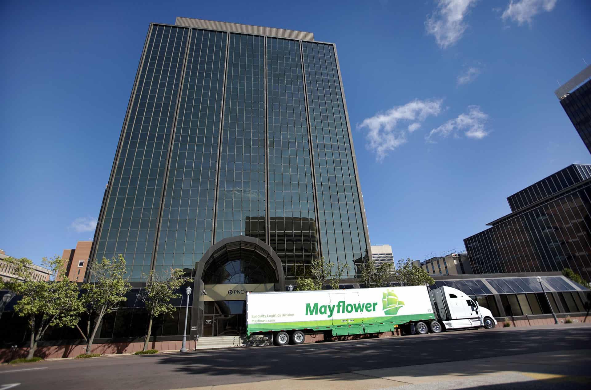 mayflower office moving