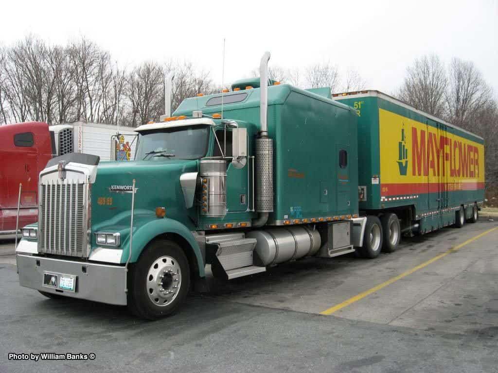mayflower moving truck